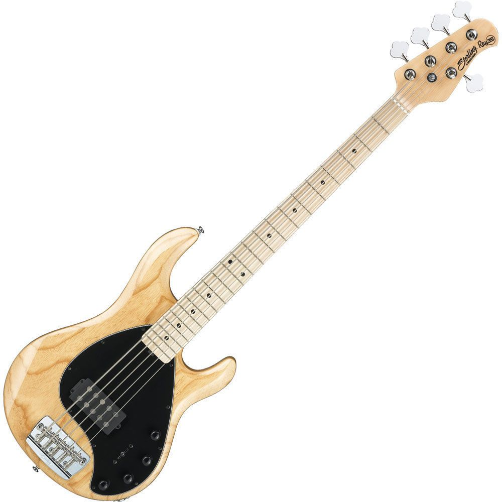 sterling by music man stingray natural 5 string bass guitar ray35nt. Black Bedroom Furniture Sets. Home Design Ideas